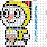 Hama Beads Dorami v2