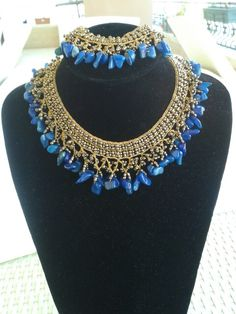 Kleopatra kolye lapis# ketting #bujiteri# Accessories #küpe #oorbellen #jade # coral #beads #necklace #stone #bileklik #armband #handmade