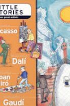 Illustrated childrens stories of 4 great Spanish artists: architect Antonio Gaudi; Pablo Picasso, Salvador Dali and Joan Miro.