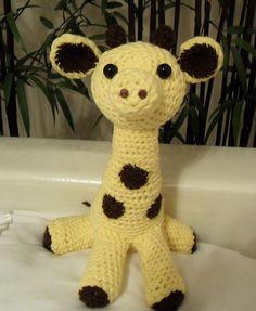 Amigurumi (crochet) giraffe