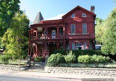 Victorian home in Sonora, California