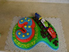 Chuggington Cake For Dad Party Ideas