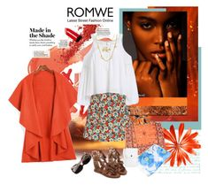 """""""Romwe 125."""" by carola-corana ❤ liked on Polyvore featuring Chanel and romwe"""