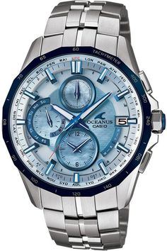 CASIO OCEANUS MANTA (OCW-S3000P-2AJF) 6 MULTIBANDS RADIO SOLAR MENS WRISTWATCH (JAPANESE MODEL)