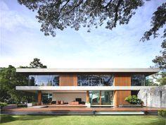 Потрясающий дизайн-проект роскошного дома с волшебным парком