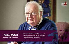 Economía y Paz  (Angus Deaton, Premio Nobel de Economía 2015) #LeyendasDePaz