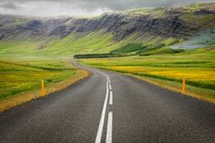 The stunning driving landscapes of Iceland