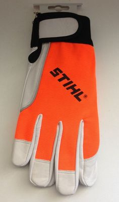 L Neu Numerous In Variety Gr Stihl Arbeits-handschuhe Carver dynamik Vent