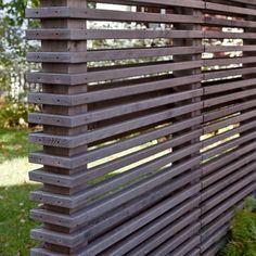 Davis Square Garden - contemporary - landscape - boston - by Matthew Cunningham Landscape Design LLC Screen Design, Fence Design, Wall Design, Indoor Garden, Outdoor Gardens, Garden Dividers, Fence Screening, Modern Fence, Contemporary Landscape