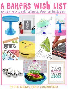 MBC: Santa baby....40 different baker gift ideas!