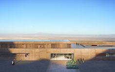 proposal model for alma hotel in the atacama desert, near san pedro de atacama, chile • LAN architecture • via archdaily