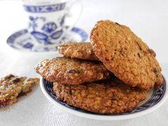 עוגיות בריאות, ולא פחות מזה טעימות, עם טחינה, קוואקר וחמוציות. וההכנה? חצי שעה כולל הכל