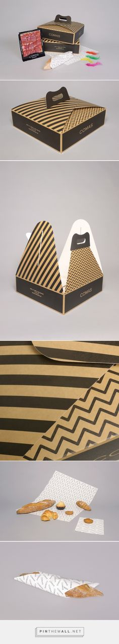 Comas Pack by oriolgayan.com #branding #packaging #bakery