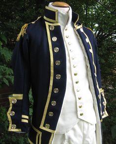 British Royal Navy Uniform, 1795 pattern