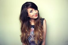 Steal hair and makeup tips from YouTube star Zoella.
