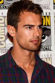 He is a bona fide stone cold fox. Again, not a statue. | Theo James May Actually Be A Mythological God