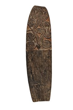 Papua New GuineaRAMU RIVER SHIELD, Auction 1073 African and Oceanic Art, Lot 84
