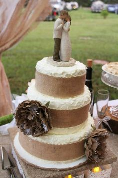 Close up...country wedding