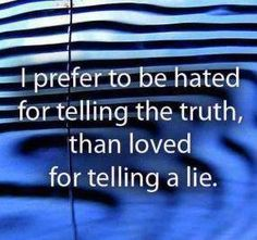 Love me or hate me..I will speak Gods truth <3