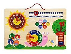 Large Calendar, play with the moving blocks to learn days and dates. Holidays With Toddlers, Calendar, Kids Rugs, Toys, Painting, Dates, Beams, Activity Toys, Kid Friendly Rugs