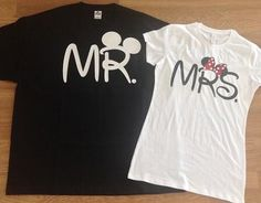Free Shipping for US Mr and Mrs  Couples T shirts on Etsy, $35.00