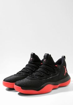 d39da94cb5e Jordan LUNAR SUPER.FLY LOW - Scarpe da basket - black/infrared - Zalando