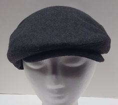 Angela  amp  William Gray Newsboy Cabbie Cap Hat Size L XL Fitted  HaT aebbb6afe248