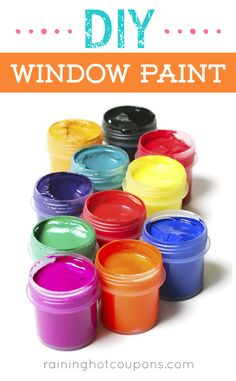 DIY Window Paint Sponsored Link *Get more FRUGAL Articles, tips and tricks from Raining Hot Coupons here* Repin It Here DIY Window Paint As we are coming out of the winter months and heading into spring, activities for the kids can be harder to find. The temperatures are still cold and sometimes too cold to …