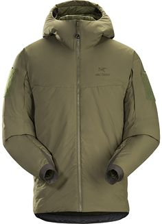 Cold WX Hoody LT Men's A windproof cold weather insulated hooded jacket.