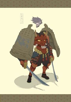 ArtStation - Nuo Xu's submission on Feudal Japan: The Shogunate - Character Design