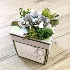 Geburtstagsbox für eine Dame, die zusammen mit ihren Mann gerne nach Österreich fährt - ihr Sohn wohnt dort.