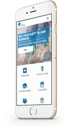 New responsive website for Blue Cross Faroe Islands by Beak