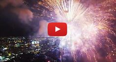 This jawdroppingly beautiful footage of a RC drone flying through a firework display will leave you breathless!