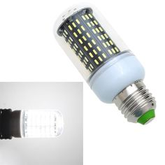 LIXADA E27 4014 SMD 220-240V Real Power 9W 138 LED Corn Light Energy Saving Lamp Bulb #energysaving