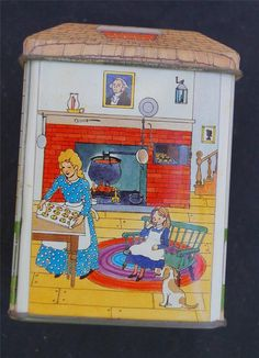 Vintage Nestles Toll House Guests Welcome Tin | eBay