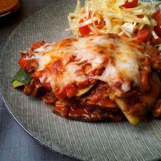 Madlaboratoriet: Paleo lasagne med squash- og aubergine-plader