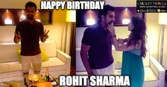 Happy Birthday Rohit Sharma (30th April) For more cricket updates visit: http://ift.tt/2gY9BIZ - http://ift.tt/1ZZ3e4d