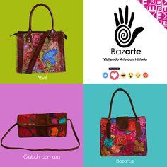 Los productos Bazarte tienen altos estándares de calidad, tanto en la mano de obra, como en los materiales. Es así como podemos obtener los finisimos acabados de flores y brocados. Conoce más en www.bazarte.com.mx y UNETE AL RESCATE TEXTIL!