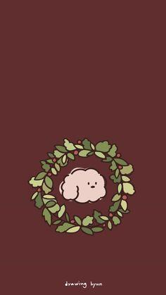 [일러스트 배경화면] 크리스마스 리스 배경화면 : 네이버 블로그 Cute Pastel Wallpaper, Boys Wallpaper, Kawaii Wallpaper, Photo Wallpaper, Pattern Wallpaper, Wallpaper Backgrounds, Iphone Wallpaper Planets, Homescreen Wallpaper, Wallpaper Iphone Disney