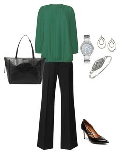 """Plus Size Work Outfit, Plus Size Career Clothing"" by jmc6115 on Polyvore"