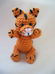Download Baby Tiger Amigurumi Pattern (FREE)
