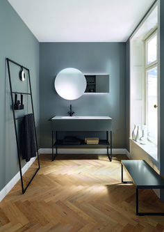 Новая коллекция Coco от Burgbad воплощает собой стиль свободной от условностей, урбанистической ванной комнаты.