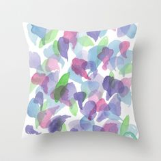 Petals kept for you Throw Pillow by Dreamy Me