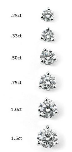 Golden Ring Diamond Sizes Wedding Jewelry Accessories