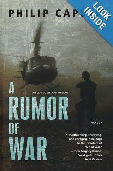A Rumor of War: Philip Caputo: 9780805046953: Amazon.com: Books
