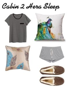 """""""Cabin 2 Hera Sleep"""" by soleilkang on Polyvore featuring American Vintage, UGG and H&M"""