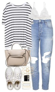 """Outfit for the airport and travelling"" by ferned on Polyvore featuring Topshop, Zara, Monki, Marc Jacobs, Henri Bendel, Forever 21 and Minor Obsessions"