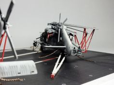HH-60H SeaHawk & HH-60R Rescue 1/72 Scale Model