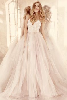 Wedding dress idea; Featured Dress: Hayley Paige