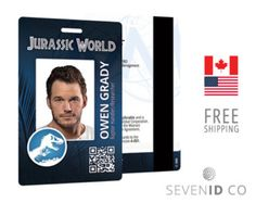 Jurassic park id template by zanderyurami on deviantart cosplay ms word photo id badge sample template word excel templates pronofoot35fo Images